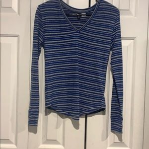 UO BDG soft striped thermal long sleeve tee